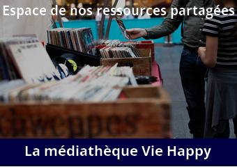 La médiathèque de Vie Happy